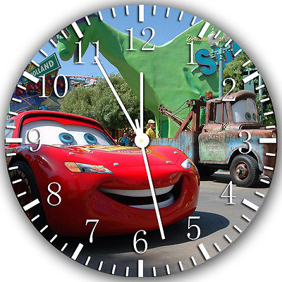 Disney Cars Mcqueen wall Clock 10