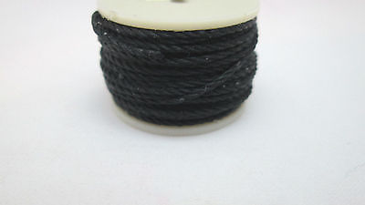 Tandy Leather Black Sewing Awl Thread