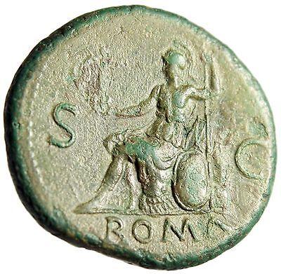 Nero Sestertius