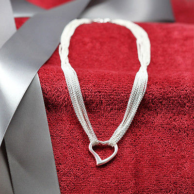 Open Heart Center Necklace