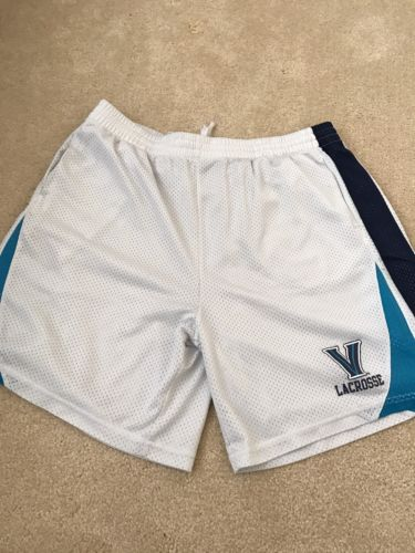 White Villanova Lacrosse Shorts Men's