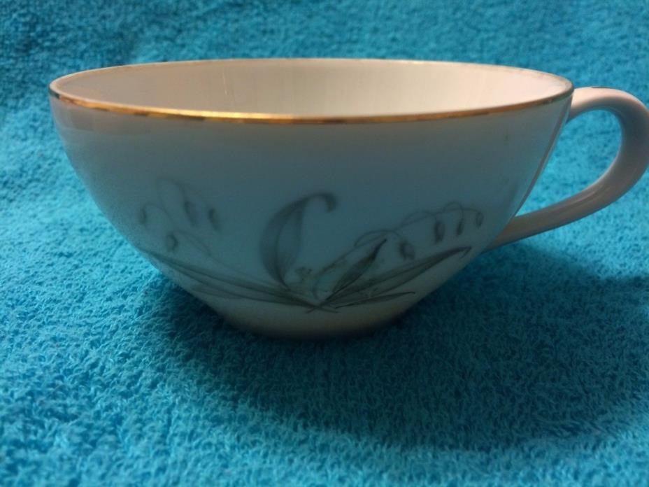 TEACUP ****KAYSONS**** FINE CHINA TEACUP  (GOLDEN RHAPSODY)