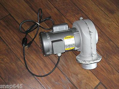 Baldor KL3450 1/3 HP Electric Industrail Motor AND American Fan Blower SC-475