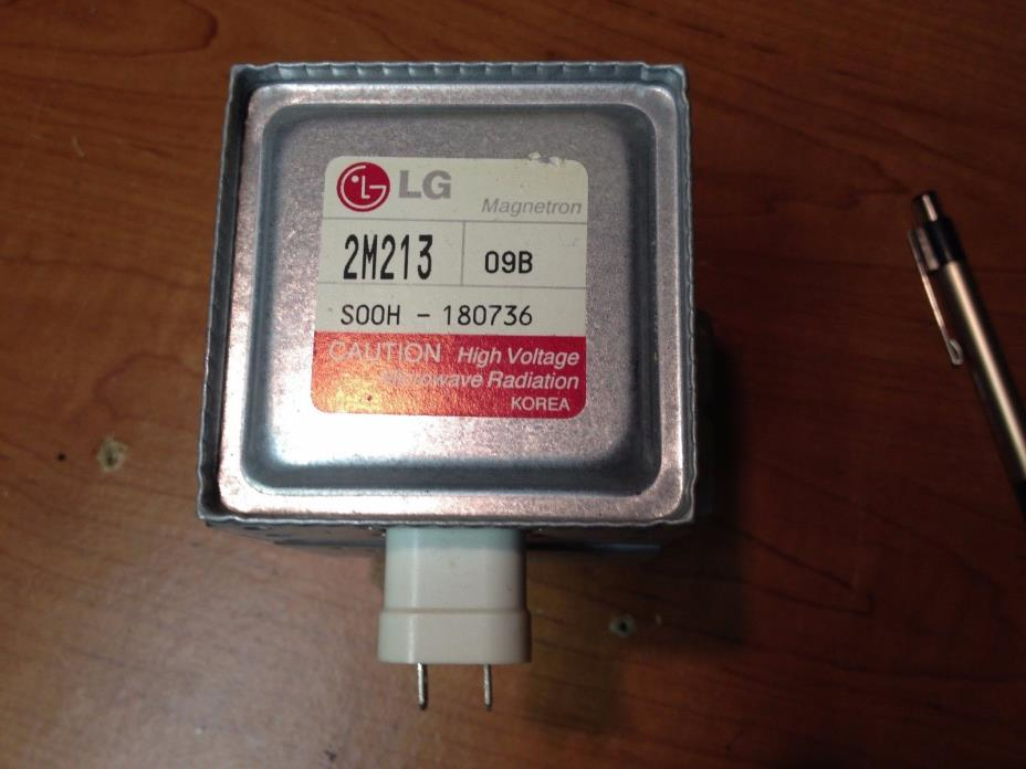 LG  2M213  Microwave Magnetron Universal Fit Kenmore LG GE