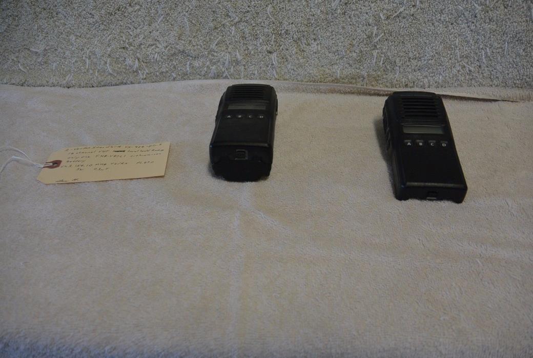 Set of (2) Vertex Standard VX-924 Radio 512 Channels VHF VX-924-D0-5 1133