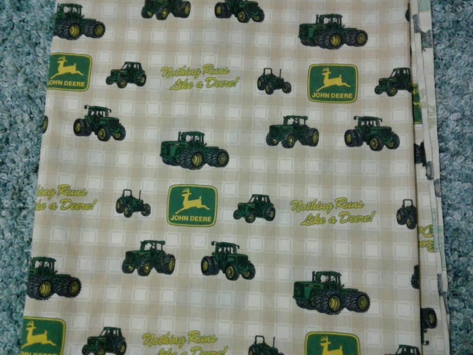 John Deere Kids Sheet Tractor Flat Linen Bedding