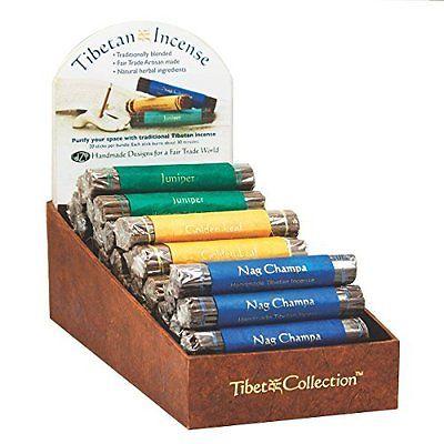 Fair Trade Organic Incense Bundle of 19 Sticks - Golden Leaf