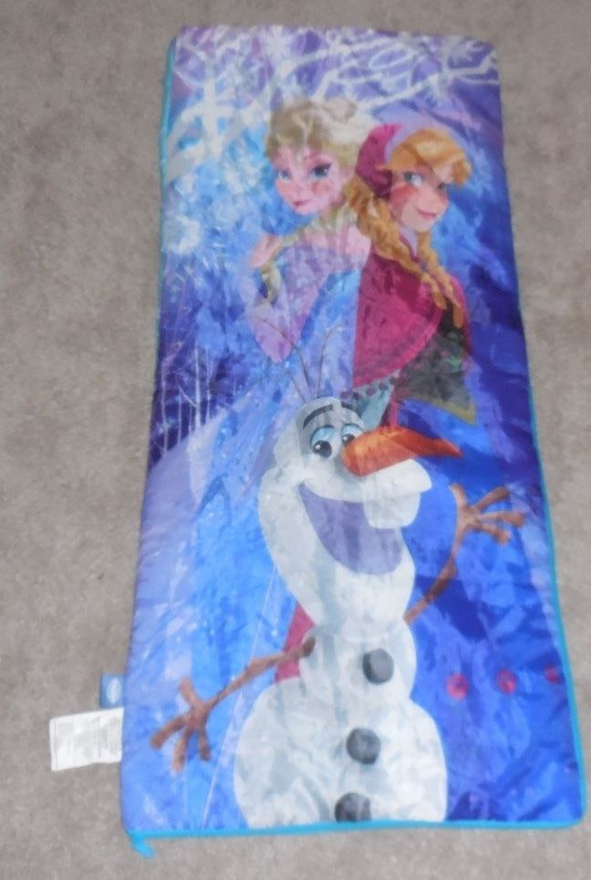 Disney Frozen Slumber Bag Kids Sleeping Bag Sleepover NWOT