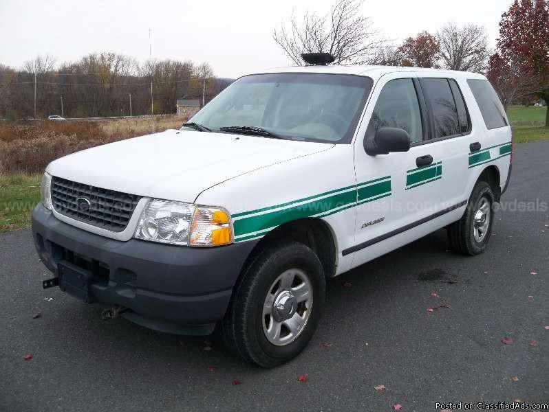 2004 Ford Explorer 4x4