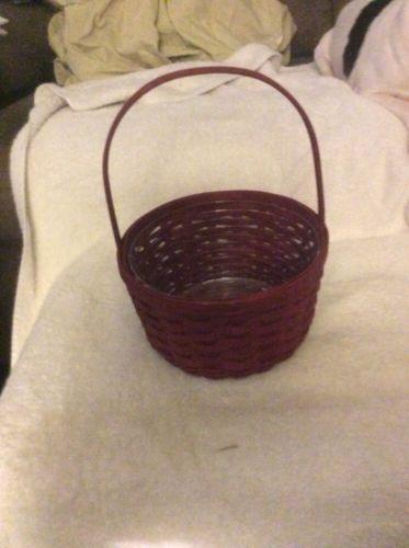 Longaberger Be My Valentine Basket