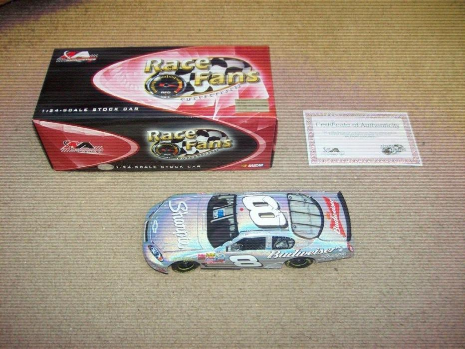 Dale Earnhardt Jr. 1/24 Action Diecast Car #8 Sharpie Mesma Chrome CW Car