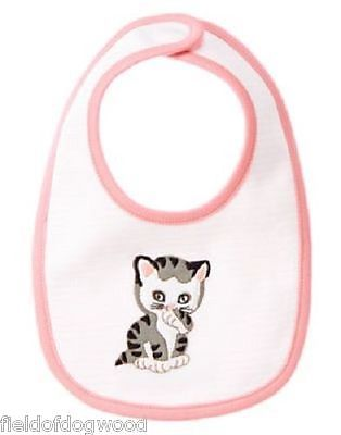 NWT Gymboree Baby Girls Little Golden Books The Shy Little Kitten Bib Pink