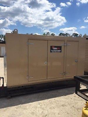Caterpillar G 3306NA Natural Gas Generator Set-85kW-480V