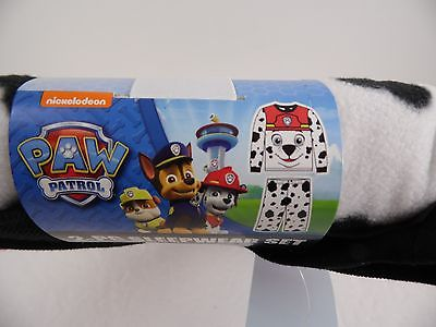 Paw Patrol Marshall Fleece Boy's Pajamas NWT 4T PJS New Gift 2pc Sleepwear