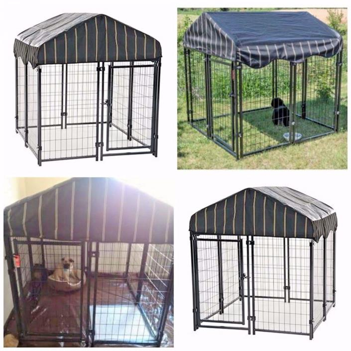 Welded wire kennel for sale classifieds for Dog run cage enclosure