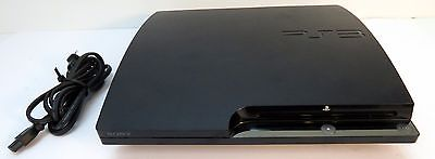 Sony Playstation 3 PS3 250GB CECH-2001B Black Console YLOD for Repair As Is