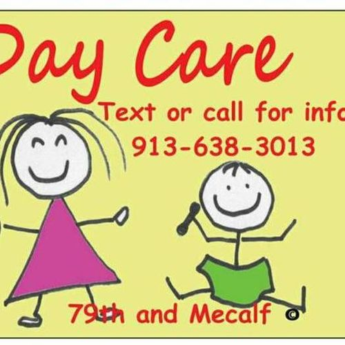In home daycare (Old Overland Park area)