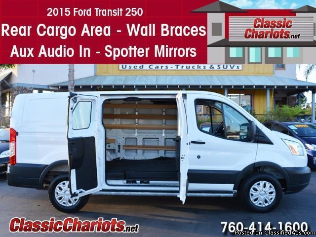 Used 2015 Ford Transit 250 Cargo Van for Sale in San Diego - Stock # 14090R