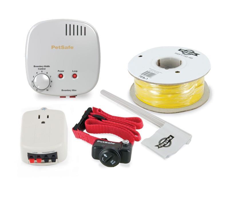 PetSafe Premium Basic Electric Dog Pet Fence w/ Lightning Protector PIG00-14582