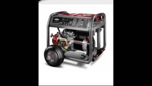 Briggs And Stratton Elite 8000 Watt Electric Start Portable Generator