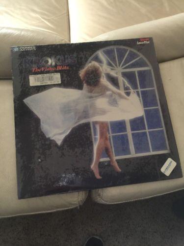 Krokus The Video Blitz Laserdisc LD PA-85-118