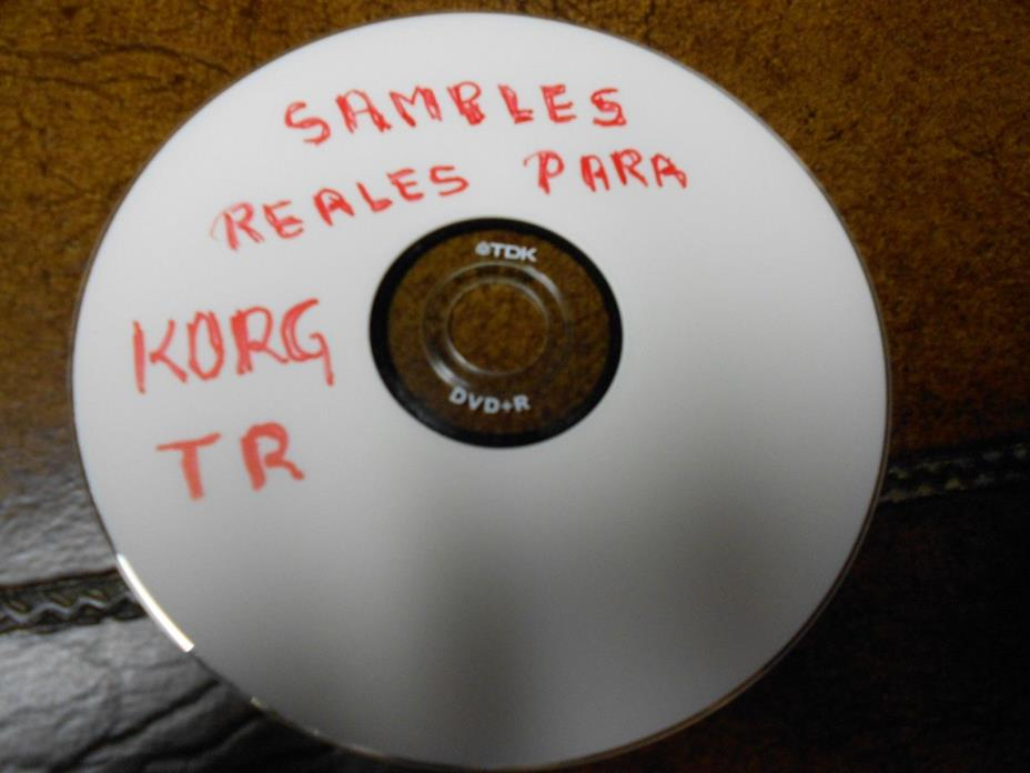 samples reales para korg tr keyboard