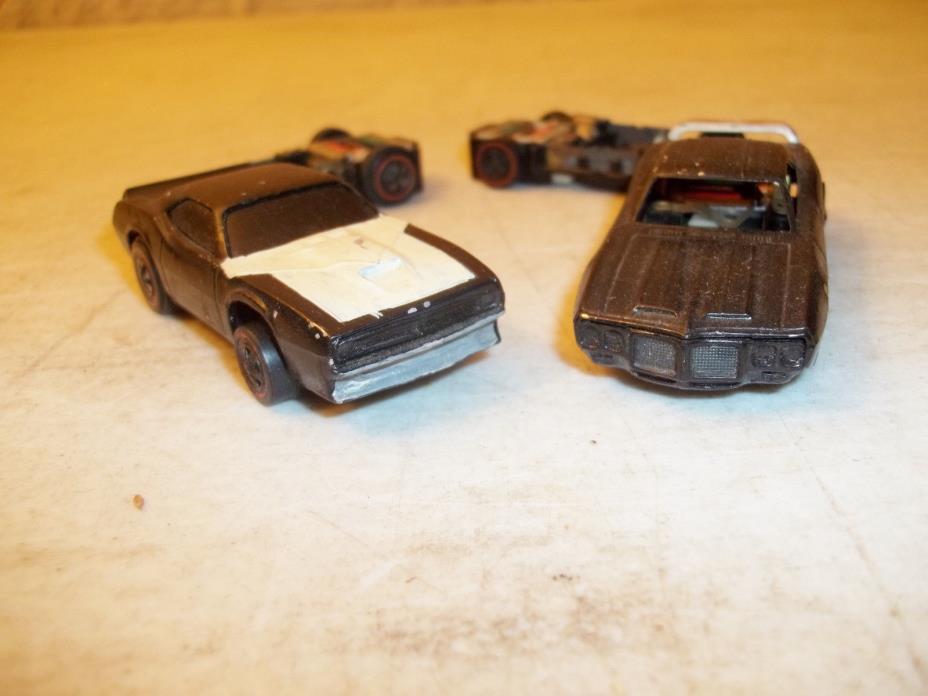 1969 Hotwheels Sizzlers Plymouth Trans Am Cuda & Pontiac Trans Am Firebird