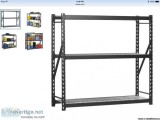 Tier Steel Free Standing Shelving Unit