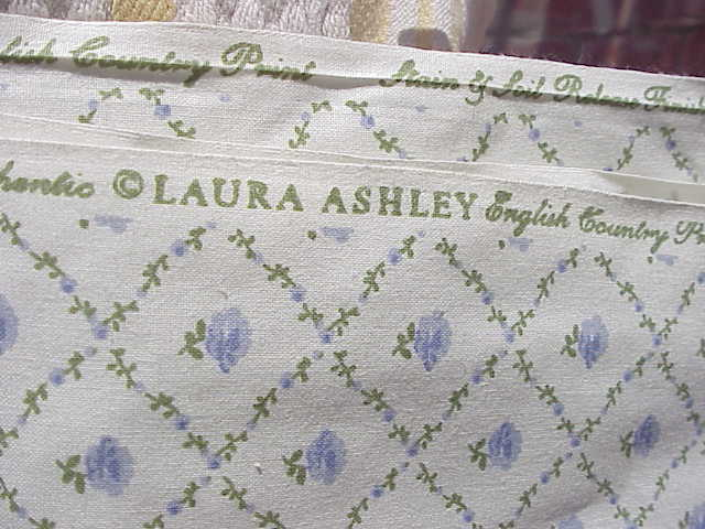2 Yds.Laura Ashley Fabric Kate -English Country Print  - Lavender Floral