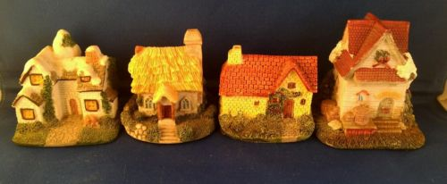 4 Cottages Cornwall Collectors Society Items BH21 BH07 BH01 BH06 FREE SHIPPING