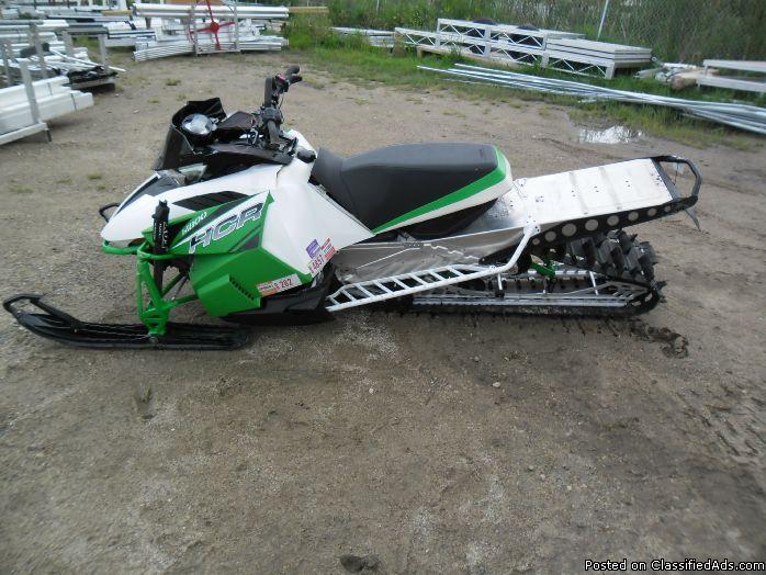 """2012 Arctic Cat HCR 800 153"""" Snowmobile 6341"""