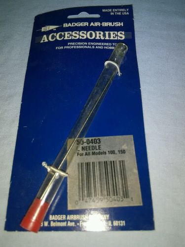 Badger Airbrush Large Airbrush Needle NOS