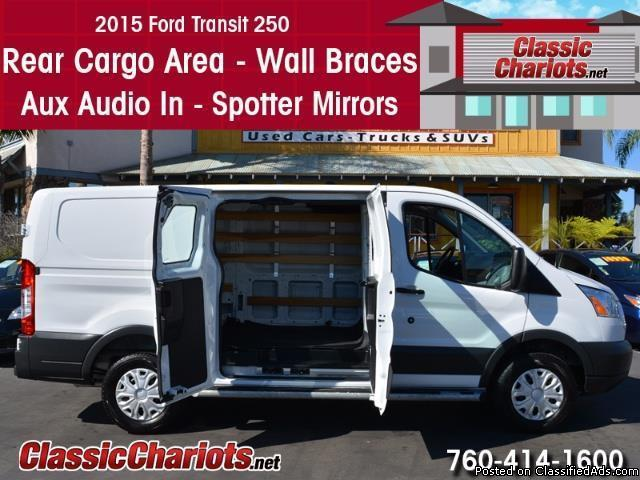 Used 2015 Ford Transit 250 Cargo Van for Sale in San Diego - Stock # 14097R