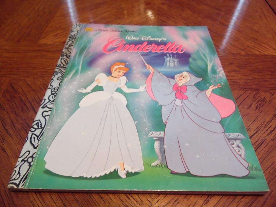 1986 Little Golden Book Disneys CINDERELLA