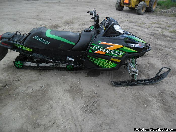 2006 Arctic Cat Crossfire 700 Snowmobile 6298
