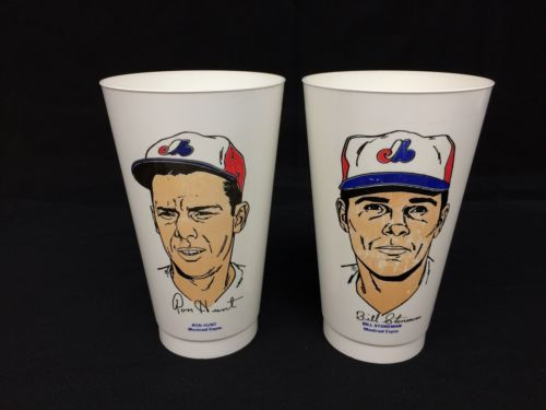 Vintage 7-11 Slurpee Cup Hunt Stoneman Montreal MLB