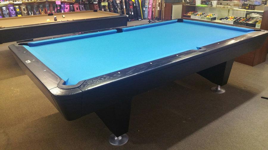 9' Diamond Pool Table Professional Black