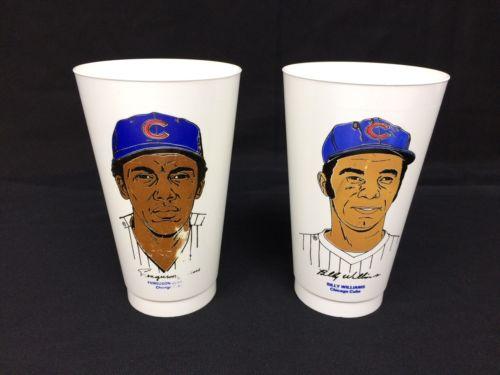 Vintage 7-11 Slurpee Cup Jenkins Williams Chicago MLB