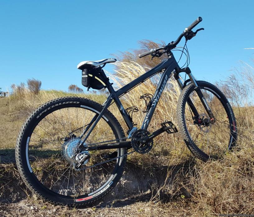 Specialized rockhopper hardtail