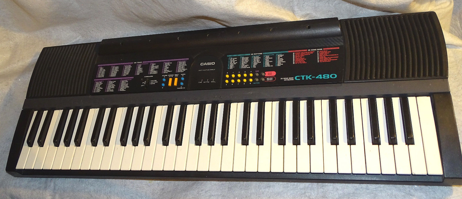 CASIO CTK-480 Musical Keyboard