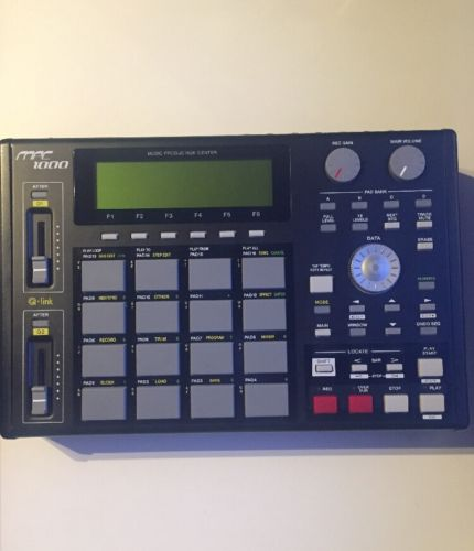 Akai Mpc 1000 with JJ OS2XL Ver: 3.47, 128MB Installed, 60GB Harddrive