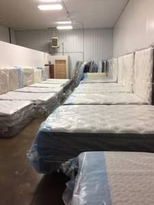 Queen Pillowtop Mattress Set
