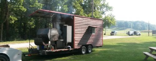 2009 SOUTHERN YANKEE BBQ CONCESSION  TRAILER