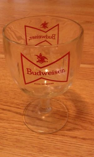 Vintage Budweiser King of Beers - GLASS