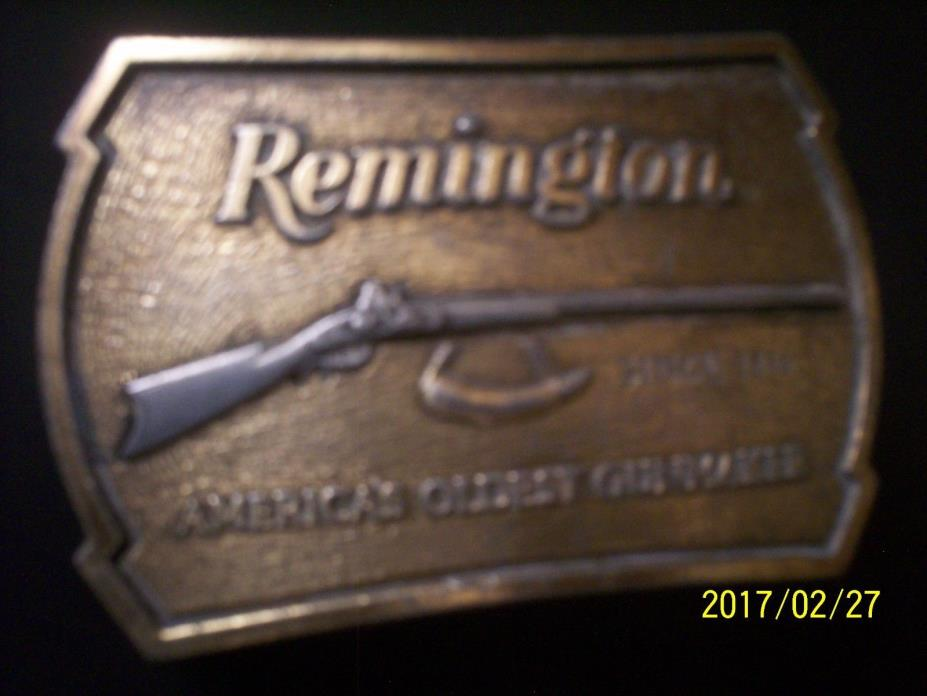 Remington Arms Belt Buckle