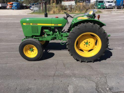John Deere 950 Tractor Mower