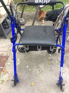 Rollator walker with seat (Grove City)