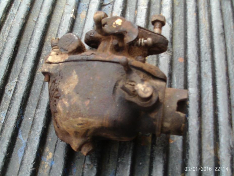 Ford 8N 9N 2N tractor carburetor assembly