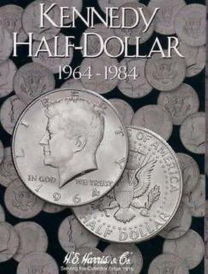 New Harris Kennedy Half Dollar 1964 1984 Coin Folder