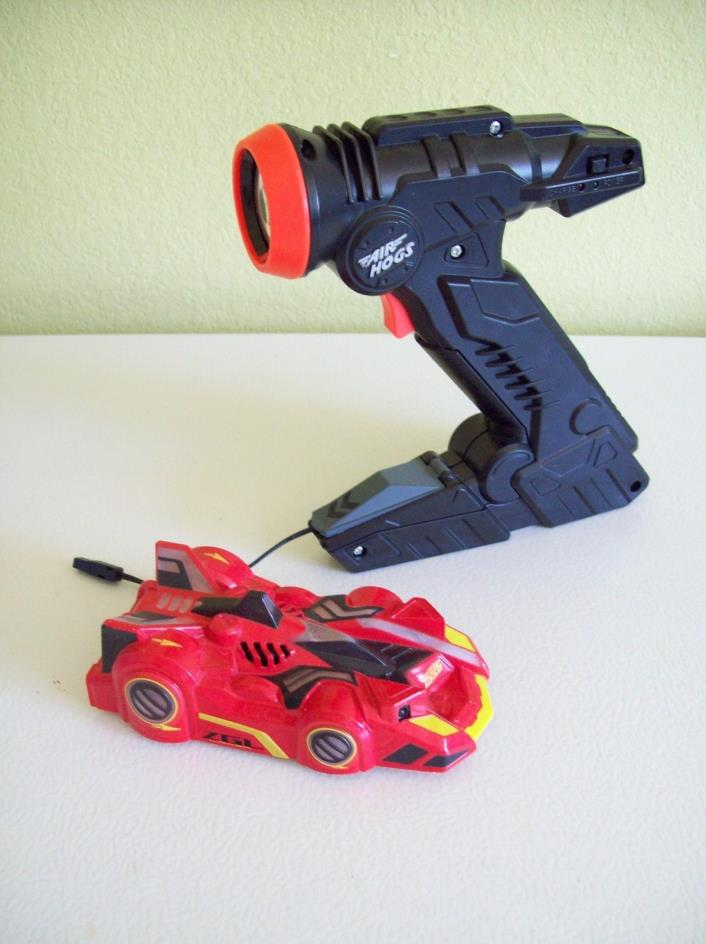 Air Hogs Zero Gravity RC Racer  Racer Red Car Spin Master 6